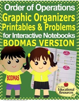 Order of Operations - BODMAS - Interactive Notebook, Graph