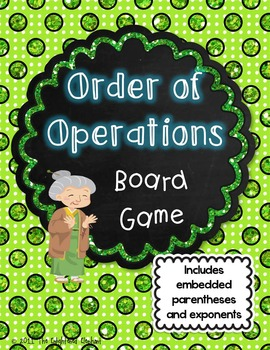 Order of Operations Board Game