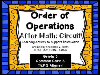 Order of Operations Circuit