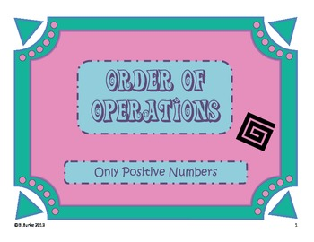 Order of Operations Coloring Picture - Maze
