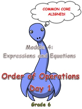 Order of Operations Day 1