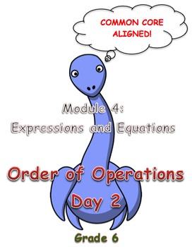 Order of Operations Day 2