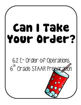 Order of Operations Game Activity