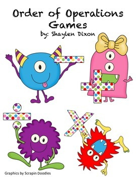 Order of Operations Game Bundle