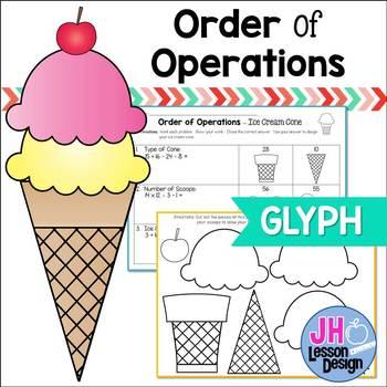 Order of Operations: Ice Cream Glyph