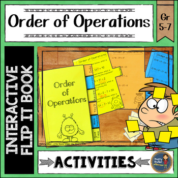 Order of Operations Interactive Flip It Book