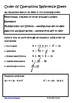 Order of Operations Lesson for Interactive Math Notebooks