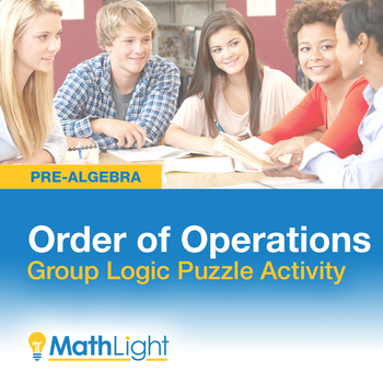 Order of Operations Logic Puzzle Group Activity