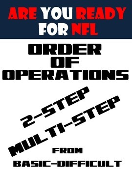 Order of Operations-NFL Theme