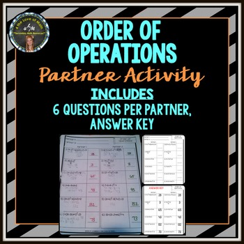Order of Operations: Partner Activity
