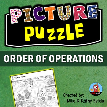Order of Operations Picture Puzzle
