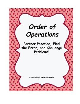 Order of Operations: Practice, Error Analysis, and Challen