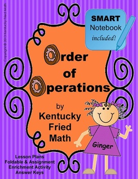 Order of Operations SMART Notebook & Interactive Notebook