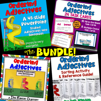 Ordering Adjectives: A Bundle of Activities!