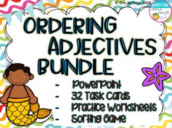 Ordering Adjectives Bundle