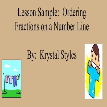 Ordering Fractions on Number Line