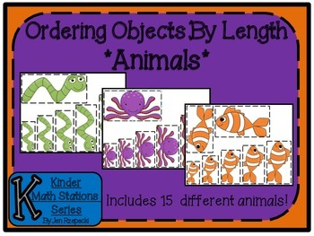 Ordering Objects By Length-Animals