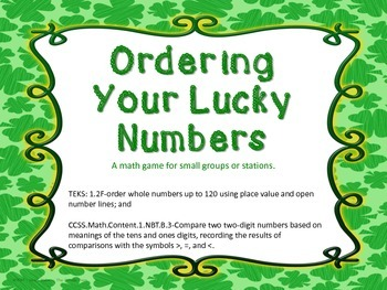 Ordering Your Lucky Numbers