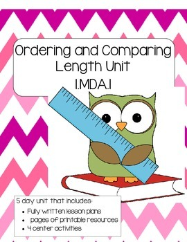 Ordering and Comparing Length Unit (Math Lessons and Activities)