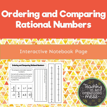 Ordering and Comparing Rational Numbers--Interactive Math
