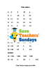 Ordering numbers lesson plans, worksheets and other teachi