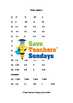 Ordering numbers worksheets (4 levels of difficulty) 2nd t