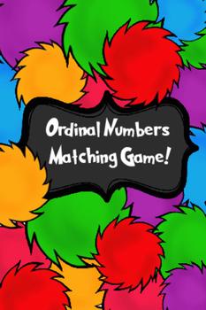 Ordinal Number Matching Game