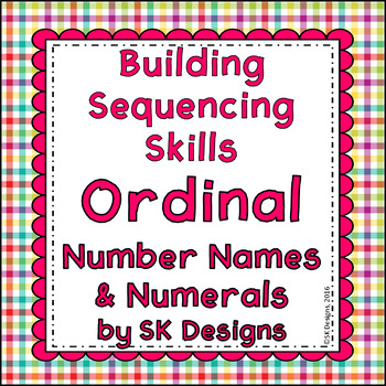 Ordinal Number Sequence 1-12: Build Skills, Fluency, Flash