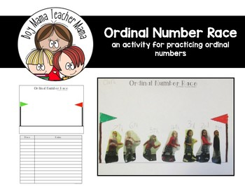 Ordinal Number Race