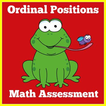 Ordinal Numbers Activity