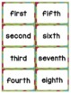 "Ordinal Numbers: 1st-10th ""Slap-It!"" card game math center"