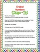 "Ordinal Numbers: 1st-10th ""Slap-It!"" card game math center March"
