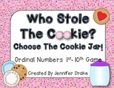 Ordinal Numbers 1st to 10th  **Cookie Jar Version**  Fun E