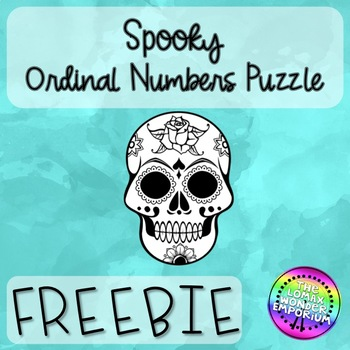 Ordinal Numbers Freebie