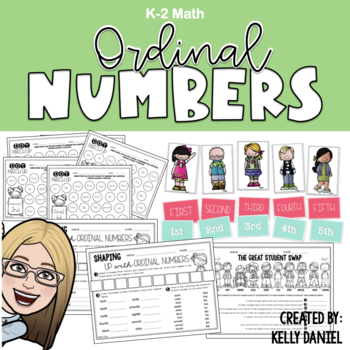 Ordinal Numbers: Fun Skill Practice & Activities