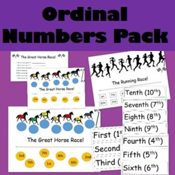 Ordinal Numbers Pack
