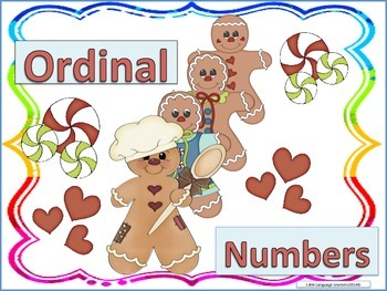 ESL Activity: Ordinal Numbers-Vocabulary Development Cards