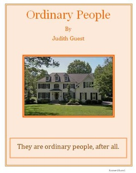 Ordinary People Tests and Essays Bundle