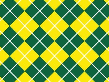 Oregon Ducks Inspired Green and Yellow Digital Backgrounds