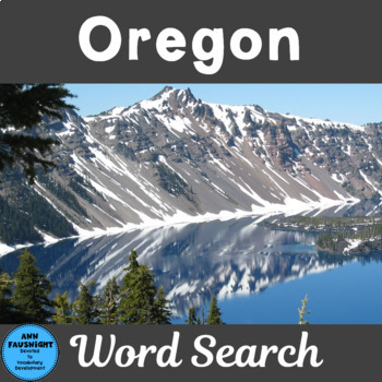 Oregon Search and Find
