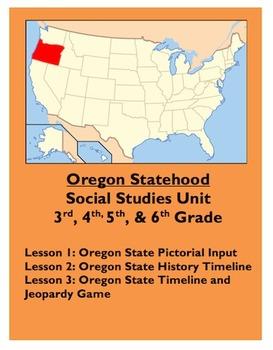 Oregon Statehood Unit [Oregon Becoming a State]