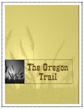Oregon Trail Activities