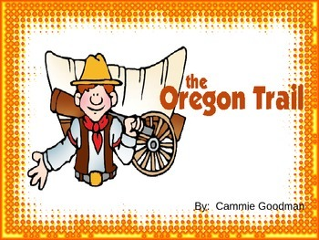 Oregon Trail BUNDLE- 4th Social Studies