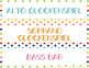 Orff Labels for Elementary Music Classroom Decor or Bullet