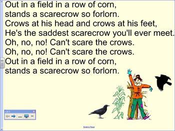 Orff Schulwerk lesson, Kindergarten - Scarecrow