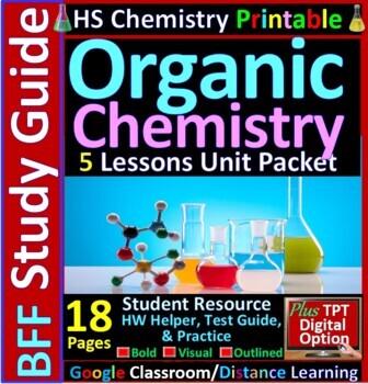 Organic Chemistry BFF: Homework Helper and Test Prep Guide