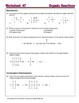 Organic Reactions; Addition, Substitution - Worksheets & P