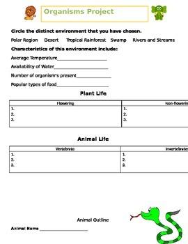 Organisms Project