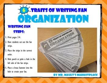 [Organization] 6 Traits of Writing Rubric Fan- Reference T