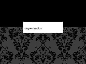 Organization PowerPoint